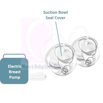 Milky Monsters Spare Part & Accessories (Silicone Diaphragm/ Valve/ Silicone Shield Funnel/ Suction Bowl Seal Cover)
